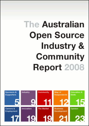 Australian Open Source Industry & Community Report 2008